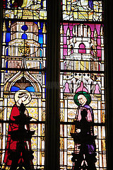 France  Haute Garonne  Toulouse  les vitraux de la Cath?drale Saint Etienne