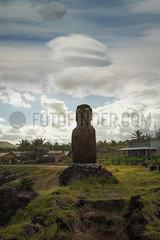 Moai auf der Osterinsel p375m2072660