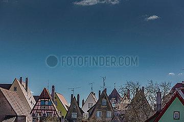 Daecher von Rothenburg ob der Tauber