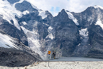 Bernina Gletscher