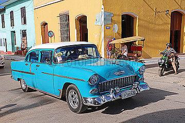 Oldtimer auf den Strassen Kubas