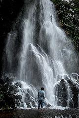 Wasserfall auf Sao Miguel