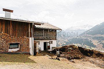 Bauernhof mit Blick auf Bad Gastein