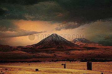 Vulkan Licanc?bur und Juriques