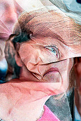 Karikatur  Angela Merkel