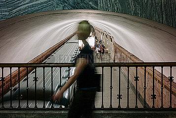 U-Bahnstation in Moskau