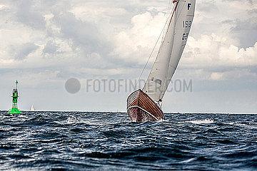 Regatta in der Kieler Bucht