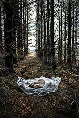 Leiche im Wald