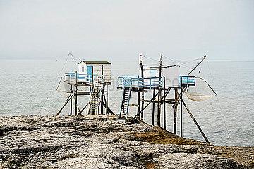 Fischerhuetten in Royan