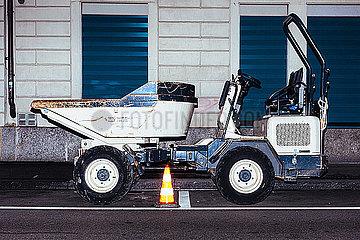 Baustellenfahrzeug