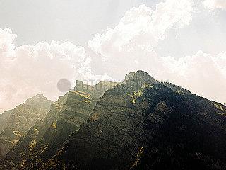 Bergkette Kloental