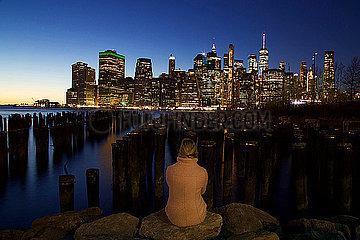 Ausblick auf Manhattan p1399m2065862