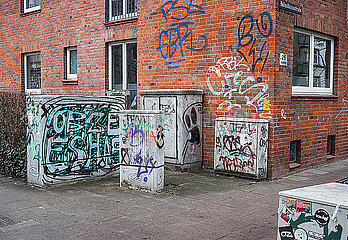 Strassenecke in Hamburg p229m2073360