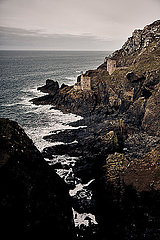 Botallack Mine in St Just Cornwall