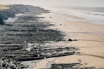Sandymouth Bay Beach