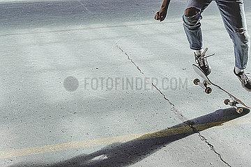 Jugendlicher Skater