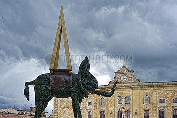 Matera  Stadt der Sassi. Unesco World Heritage Stadt und Europaeische Kulturhauptstadt 2019.