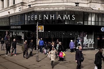 Debenhams administration Debenhams administration