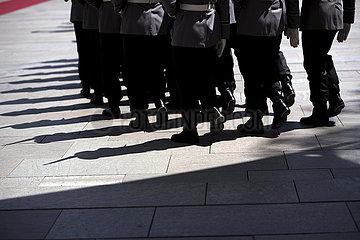 Militaerische Ehren Kanzleramt Militaerische Ehren Kanzleramt