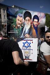 Al-Quds-Day  Chomeini and Nasrallah Al-Quds-Day  Chomeini and Nasrallah