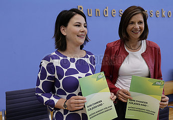 Bundespressekonferenz zum Thema: Konzept fuer eine Kindergrundsicherung  360-berlin