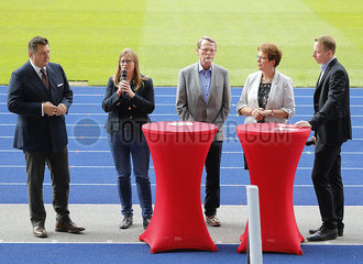 Sportpolitischen Empfang der SPD Berlin am 17. Mai im Olympiastadion 360-berlin