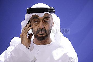 Bundeskanzleramt Treffen Merkel bin Zayed Al Nahyans 360-berlin