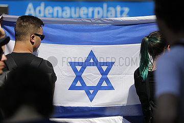 Al-Quds Demonstration gegen Israel und Zionismus und fuer einen palaestinensischen Staat (auch auf dem Territorium Israels) 360-berlin