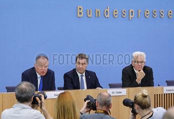 Bundespressekonferenz zum Thema: Die Zukunft der Automobilindustrie  360-berlin
