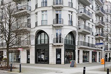 Neubau von Wohngebaeuden in der Kollwitzstrasse Ecke Belforter Strasse in Berlin-Mitte