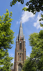 Marienbasilika  Kevelaer  Nordrhein-Westfalen  Deutschland