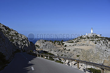 Spanien  Mallorca - Leuchtturm am Cap de Formentor