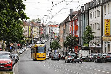 Altendorfer Strasse im Stadtteil Altendorf  Essen  Ruhrgebiet  Nordrhein-Westfalen  Deutschland