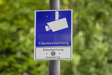 Ueberwachungskameras in der Essener Nordstadt  Essen  Ruhrgebiet  Nordrhein-Westfalen  Deutschland