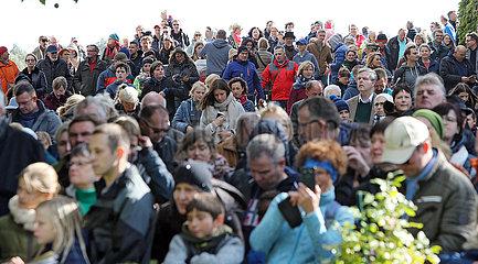 Hoppegarten  Deutschland  Menschenmenge