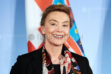 Berlin  Deutschland - Marija Pejcinovic-Buric  kroatische Ministerin fuer auswaertige Angelegenheiten und Euorpaeische Integration.