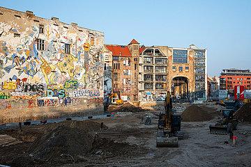 Tacheles in der Oranienburger Strasse in Berlin-Mitte