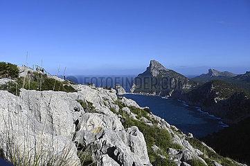 Spanien  Mallorca- Kuestenlandschaft am Cap de Formentor