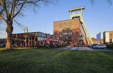 Zeche Ewald  Ewald Cafe  Herten  Ruhrgebiet  Nordrhein-Westfalen  Deutschland  Europa