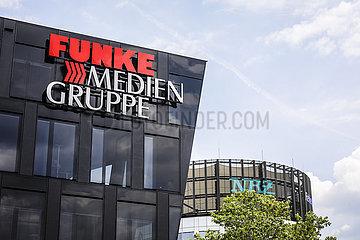 Funke Medien Gruppe  Essen  Ruhrgebiet  Nordrhein-Westfalen  Deutschland