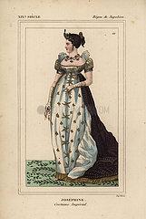 Empress Josephine  ceremonial robes  1763-1814.