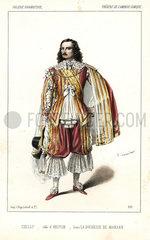 Charles Marie de Chilly in La Duchesse de Marsan  1847.