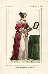 Louise Motier de Lafayette  1618-1665  French courtier.