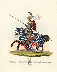 Aylmer de Valence  Second Earl of Pembroke  1315.