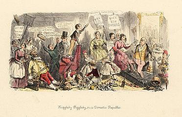Higgledy-Piggledy  or a Domestic Republic 1849.