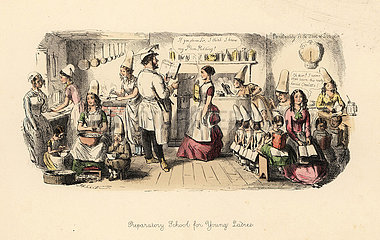 Preparatory School for Young Ladies  1851.
