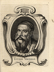 Titian  Italian painter of the Venetian school.