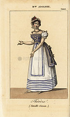 Mme. Adolphe as Thereze in La Famille Sirven at the Theatre de la Gaiete  1820.
