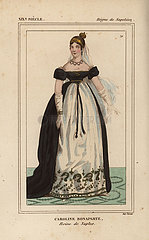 Caroline Bonaparte  Queen of Naples  sister of Napoleon 1782-1839.