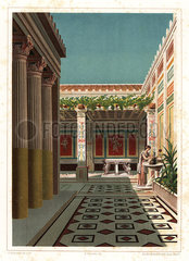 House of Ariadne or the House of the Coloured Capitals  VII.4.31/51  Pompeii.
